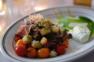 Rare Beef Salad